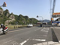 Japan National Route 212 near Mount Kyoshuho.jpg