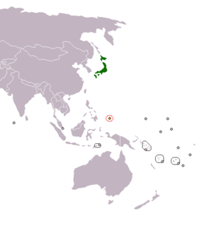Japan–Palau relations Diplomatic relations between Japan and the Republic of Palau
