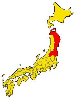 Mutsu Province - Mutsu Province from 1185 to 1868