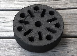 Biomass briquettes - Quick Grill Briquette made from coconut shell