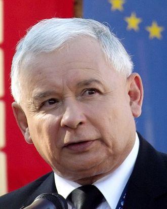 Jarosław Kaczyński - Image: Jarosław Kaczyński (5) (cropped)