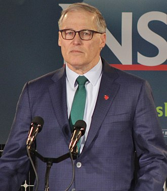 Jay Inslee - Inslee declaring himself a candidate for the presidency