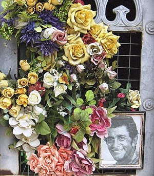 Jean-Claude Pascal - Grave of Jean-Claude Pascal's family in the Montparnasse cemetery in Paris