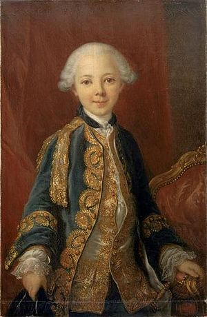 Jean Marie, Duke of Châteauvillain - Portrait by Louis van Loo