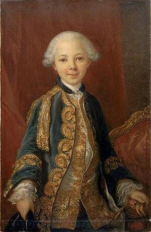Joseph Albrier - Image: Jean Marie de Bourbon, Duke of Châteauvillain after Louis Michel van Loo (Versailles)