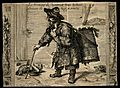 Jean Robert, a charcoal-burner. Engraving by J. Le Blond. Wellcome V0007212.jpg