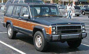 Jeep Cherokee (XJ) - 1986–1990 Jeep Wagoneer (XJ)