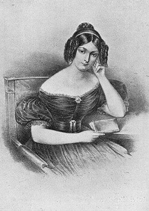 Diana Rabe von Pappenheim - Diana's first daughter Jenny von Gustedt