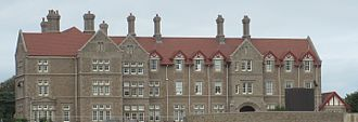 Jersey College for Girls - The College House frontage