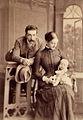 Jerzy Hutten-Czapski z Jozefoj i Leopoldzinoj 1887.jpg
