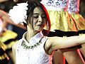 Jessica Vania Widjaja (Jeje) JKT48 Final Basket Honda Development-Basketball League DBL Tangerang 15-08-2015 2b.jpg