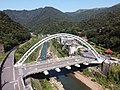 Jieshou Bridge seen from the air in Ruifang.jpg