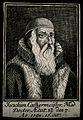 Joachim Camerarius (Cammermeister). Line engraving, 1598. Wellcome V0000971.jpg