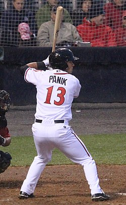 Joe Panik on April 4, 2013.jpg