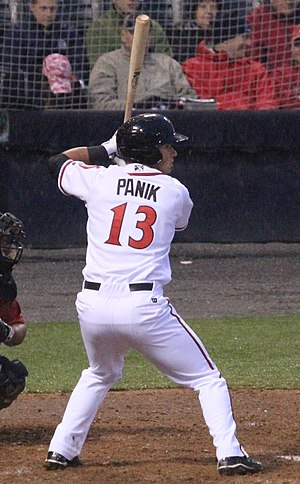 Joe Panik - Image: Joe Panik on April 4, 2013