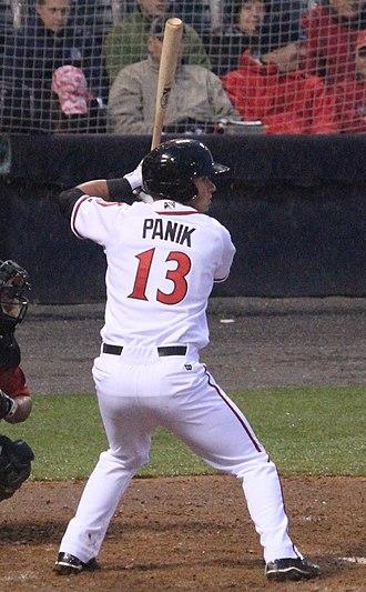 Joe Panik - Image: Joe Panik on April 4, 2013