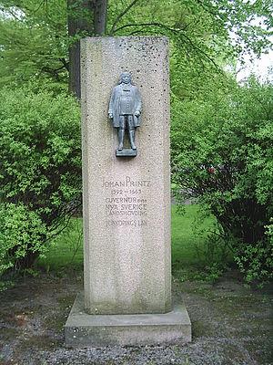 "Johan Björnsson Printz - Sculpture in the park, ""Rådhusparken"" in Jönköping, Sweden"