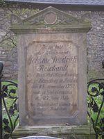 Grabstein Reichardts (Quelle: Wikimedia)