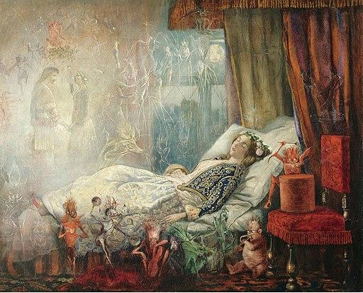 John Anster Fitzgerald - Dreams