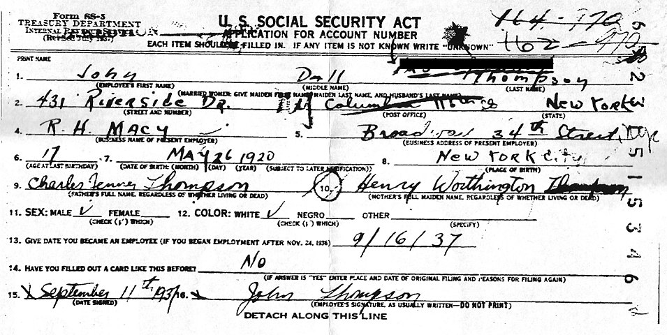 John Dall's Social Security application.jpg
