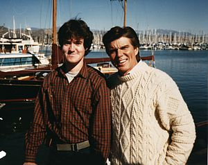 John Davidson (entertainer) - John Davidson (at right, in 1990)