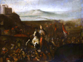 John III of Poland during the battle of Párkány in 1683.PNG