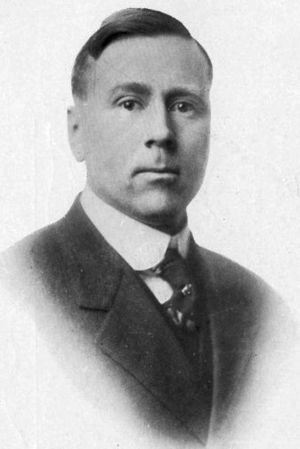 John L. Griffith - Griffith pictured in The Quax 1918, Drake yearbook
