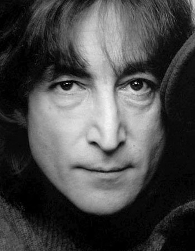 From commons.wikimedia.org: John Lennon portrait {MID-206547}