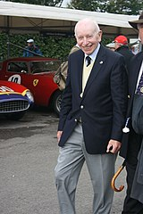 John Surtees podczas Goodwood Revival w 2011 roku