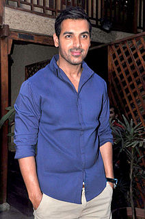 John Abraham Indian film actor, producer and model (b. 1972)