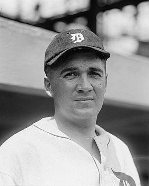Johnny Bassler - Bassler in 1924