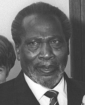 Jomo Kenyatta - President Kenyatta in 1966
