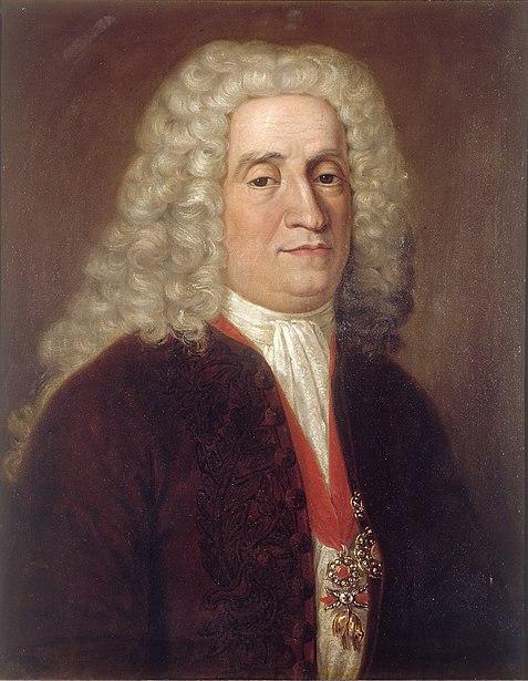 Retrato de José Patiño Rosales.
