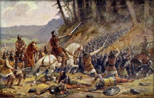 Josef Mathauser - Bitva u Domažlic