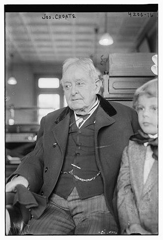 Joseph Hodges Choate - Joseph Hodges Choate on May 11, 1917, in Manhattan