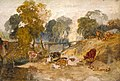 Joseph Mallord William Turner (1775-1851) - Cows in a Landscape with a Footbridge - N04657 - National Gallery.jpg