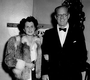 "The Power Elite - Historically prominent families, such as the Kennedy family, form the ""Metropolitan 400."" Shown here are Rose and Joseph Kennedy in 1940."