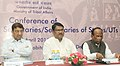 Jual Oram at the inauguration of the Conference of State Tribal Welfare Ministers Principal Secretaries Secretaries to evolve strategies for overall development of tribal communities, in New Delhi.jpg
