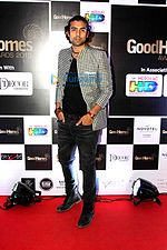 Jubin Nauityal at the Good Homes Awards 2015.jpg
