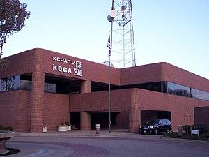 KCRA-TV - KCRA/KQCA Studios at 3 Television Circle.