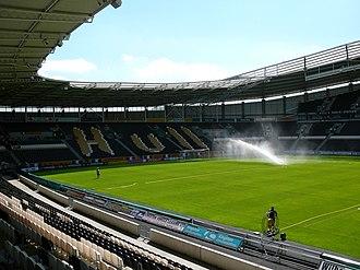 KCOM Stadium - Image: KC South Stand