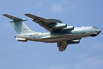 Airborne early warning and control - PLAAF KJ-2000