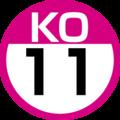 KO-11 station number.png
