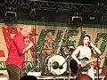 KT Tunstall with Billy Bragg in Left Field at Glastonbury Festival 2019 03.jpg