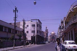 Al-Kadhimiya Mosque - Image: Kadhimayn mosque. Bab Alquiblah in 1970