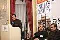 "Kamal Nath addressing the gathering at the global launch of his book titled, "" India's Century The Age of Entrepreneurship in the World's Biggest Democracy"", at a function, organised by CII, in London on December 13, 2007.jpg"