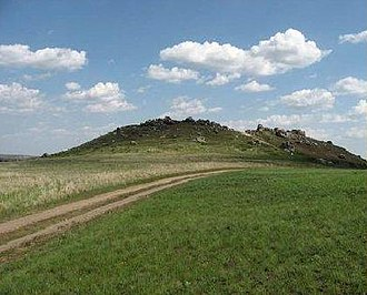 Kamyshinsky District - Kamyshinskiye Ushi, a natural monument in Kamyshinsky District