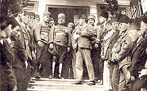 Kâzım Karabekir - Kâzım Karabekir was appointed the commander of the Ottoman XV Corps and landed at Trabzon on 19 April 1919