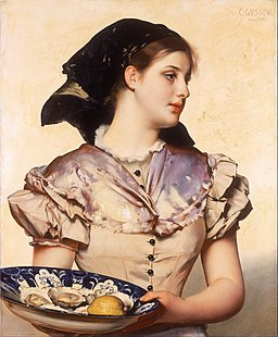 Karl Gussow - The Oyster Girl - Google Art Project