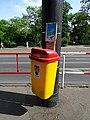 Karlovo náměstí, odpadkový koš Praha 2.jpg